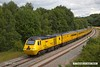 170712-015  Visiting the test track for calibrating on Wednesday 12 July was the Network Rail NMT top & tailed with 43013 & 43062 John Armitt, captured nearing Boughton Junction, running as 1Z10, 11:15 Derby RTC - High Marnham