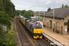 170729-009  Europhoenix class 37's No's 37608 Andromeda & 37611 Pegasus are captured passing through Mansfield Woodhouse, powering (top & tail) Network Rail Test Train 1Q68, 02:59 Doncaster C.H.S. - Derby R.T.C.