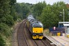 170729-004  Europhoenix class 37's No's 37608 Andromeda & 37611 Pegasus are captured passing through Mansfield Woodhouse, powering (top & tail) Network Rail Test Train 1Q68, 02:59 Doncaster C.H.S. - Derby R.T.C.