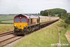 170614-031  UK Railtours 'The Great Central Lament' powered, in top & tail mode by DB Cargo class 66's No's 66182 & 66074 is seen passing Clipstone West Junction on the former Lancashire Derbyshire & East Coast Railway. Having just visited the High Marnham Test Track it is seen on the second leg of the tour, running as 1Z57, the 13:55 High Marnham - Stocksbridge Works.