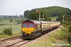 170614-028  UK Railtours 'The Great Central Lament' powered, in top & tail mode by DB Cargo class 66's No's 66182 & 66074 is seen passing Clipstone West Junction on the former Lancashire Derbyshire & East Coast Railway. Having just visited the High Marnham Test Track it is seen on the second leg of the tour, running as 1Z57, the 13:55 High Marnham - Stocksbridge Works.