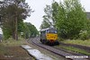 170515-010  DCR class 31 No 31452 running 'light' as 0Z01, 08:22 Thoresby Colliery Junction - Derby RTC. It is seen passing through the former Lancashire Derbyshire & East Coast Railway station at Edwinstowe which was closed to regular passenger trains by BR in 1955. Note, the distant semaphore signal has been replaced with a fixed signal, displaying caution. The semaphore was rarely pulled off as all trains passing Thoresby have to stop to collect the Annetts key to access the High Marnham Test Track.