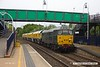 170515-002  DCR class 31 No 31452 is seen passing through Mansfield Woodhouse returning a Loram Rail Grinder to Tuxford, running as 4Z01, 04:32 Derby RTC - Thoresby Colliery Junction, Monday 15th May 2017.
