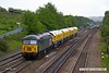 170520-022  DCR class 56 No 56303 is captured passing Tupton, Chesterfield, powering 4Z02, 12:20 Chaddesden sidings - Wolsingham, hauling Loram Rail Grinder CRG1, DR79301, 302, 303 & 304.