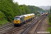 170520-020  DCR class 56 No 56303 is captured passing Tupton, Chesterfield, powering 4Z02, 12:20 Chaddesden sidings - Wolsingham, hauling Loram Rail Grinder CRG1, DR79301, 302, 303 & 304.