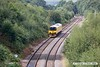 170904-008  Network Rail class 950 ultrasonic test unit No 950001 is captured nearing Welbeck Junction as it returns from High Marnham with 2Q08, 10:32 Derby RTC - Derby RTC.