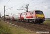 170906-018  Virgin East Coast class 91 No 91102 City of York is captured passing Eaton Lane, near Retford, powering 1S09, the 09:00 London King's Cross - Edinburgh