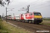 170906-013  Virgin East Coast class 91 No 91120 is captured passing Eaton Lane, near Retford, powering 1N06, the 08:30 London King's Cross - Newcastle.