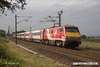 170906-014  Virgin East Coast class 91 No 91130 Lord Mayor of Newcastle is captured passing Eaton Lane, near Retford, powering 1D06, the 08:35 London King's Cross - Leeds.