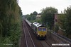 170903-008  Freightliner class 66/5 No 66559 is seen from Princes Street footbridge at Mansfield, powering engineers train 6Y33, 12:45 Woodend Junction - Toton North Yard.