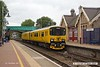170904-014  Network Rail class 950 ultrasonic test unit No 950001 is captured passing through Shirebrook as heads back to Derby with test train 2Q08, 10:32 Derby RTC - Derby RTC.