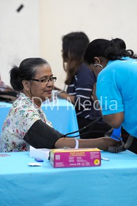 Medical Camp at Taman Sri Muda in collaboration with Peduli Sihat, an initiaitve by Selgor State govt to provide financial assistance for medical treatment for low income group