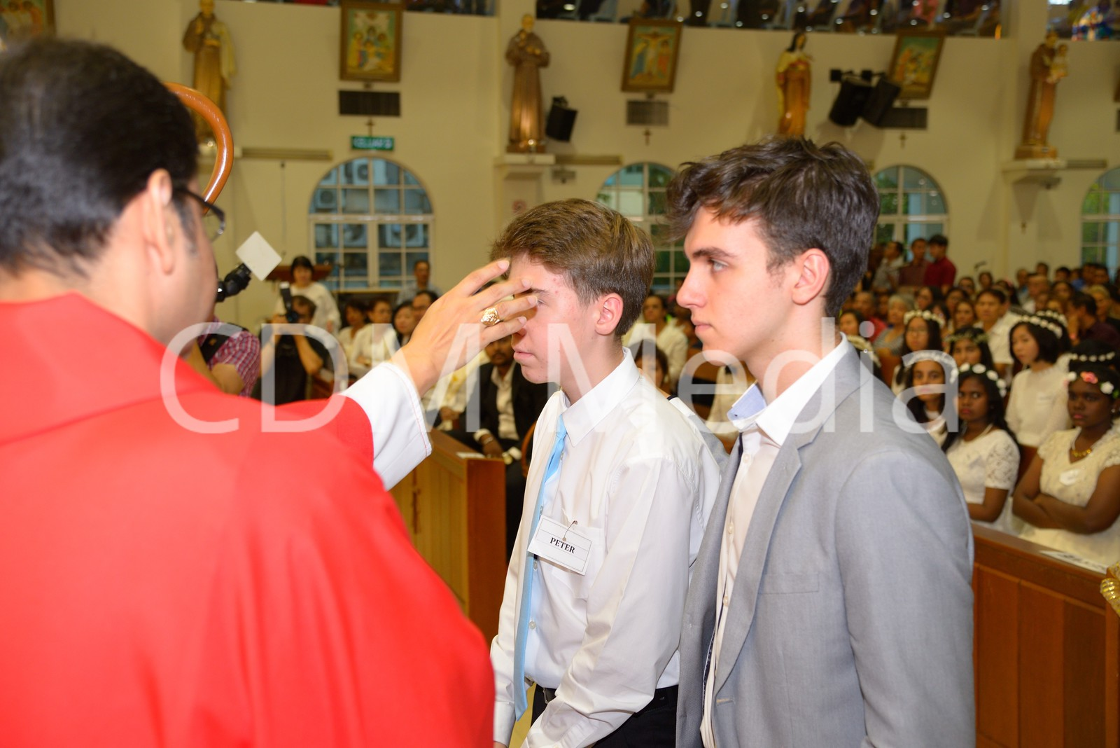 Confirmation for Form 5 students from CDM, SFX and International Schools