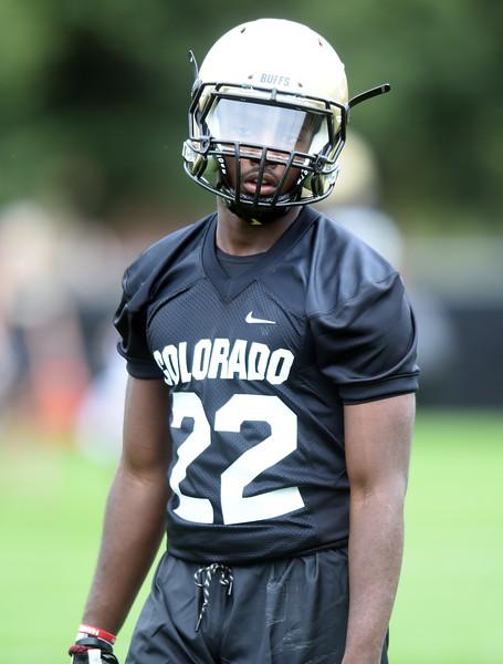 Colorado Football Day 1 Practice
