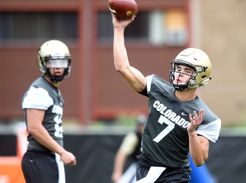 Colorado Football Day 1 Practice
