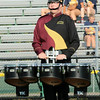 Andrew Blough carries the quad for the Jimtown Band at the Concord invitational during week two of competition in Class C.