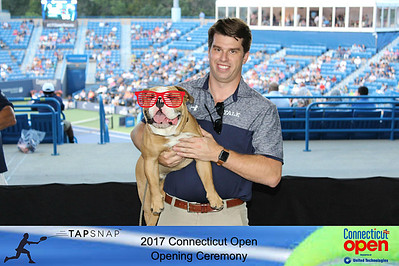 2017 Connecticut Open Opening Ceremony
