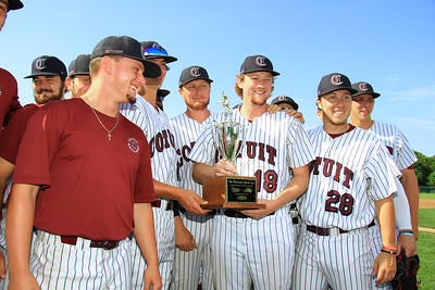 The Cotuit Kettleers are presented with the Patriot Cup. The Patriot Cup is awarded to the team, either Cotuit or Hyannis, that wins the season series between the two teams during the past season.