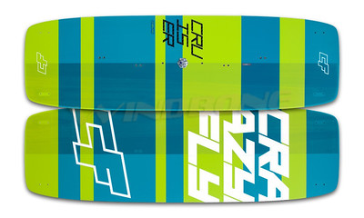 2017 Crazyfly Cruiser Pro Carbon Light Wind Kiteboard