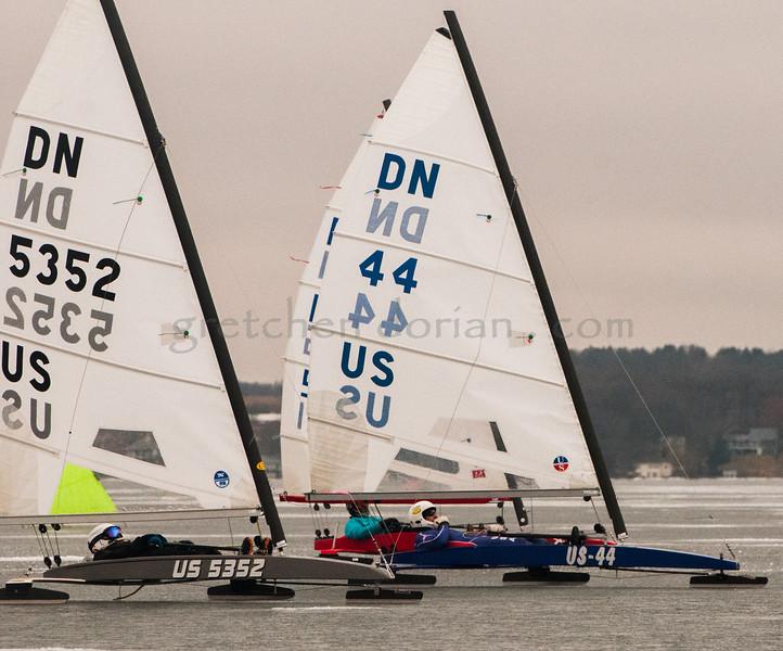 Daniel Hearn   US 5352 & Ron Sherry   US 44