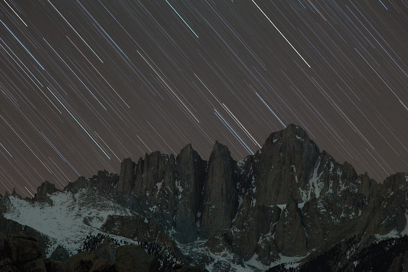 Raining Stars on Mt. Whitney
