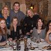 Taunya Clarke Eshenbaugh, Tonya York Dees, Amy Dennison, Chef Guy Genoud, Tammy York Day, Cathy Christian and Soon Bahrami at Brasserie Provence.