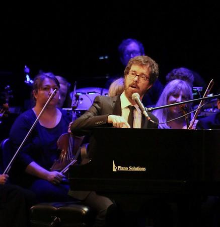 LYNNE ZEHR  THE GOSHEN NEWS<br /> Ben Folds & The Elkhart County Symphony