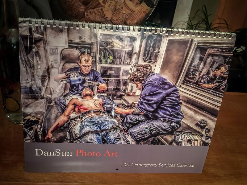 2017 Emergency Services Calendar
