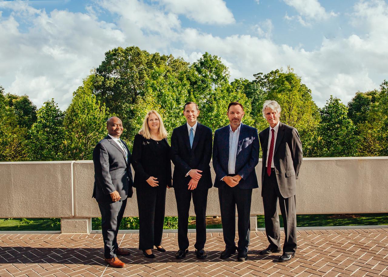 Dean Schapiro and 2017 Alumni Award Recipients