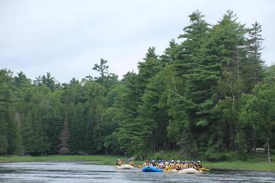 Rafting Ottawa river August 4, 2017