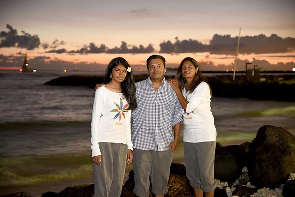 Antala Family in Hawaii