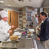 Hospitality and Tourism Department cooking show with Chef Donald Schmitter at Buffalo State College.