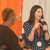 Krista Todd speaks about her success after graduating and receives the young alumni award.