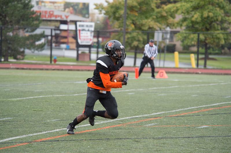 Homecoming football game vs. SUNY Brockport at Buffalo State College.