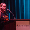 "Performance of Michele Costa's ""Speak"" during the Anne Frank Project Social Justice Festival (AFP) at Buffalo State College."