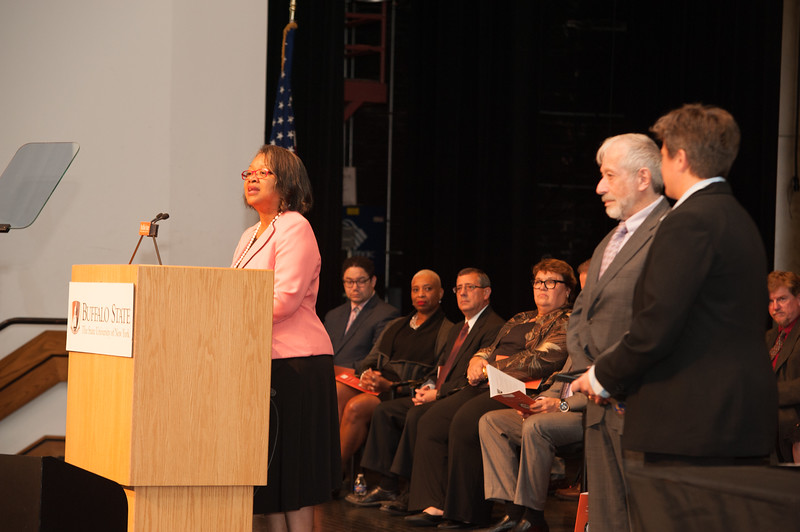 Faculty and Staff Awards Recognition Ceremony at Buffalo State College.