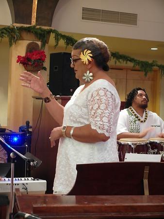 12-24-17 Christmas Eve Mass 7 pm Choir