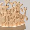 Student wood design work by Christina Aqvilera
