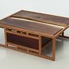 Student wood design work by Derek Schwarekopf