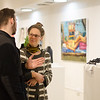 Student Art Sale at Buffalo State College.