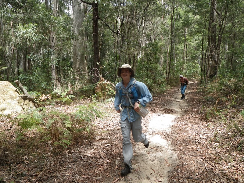 Jim Trihey in Murramarang National Park