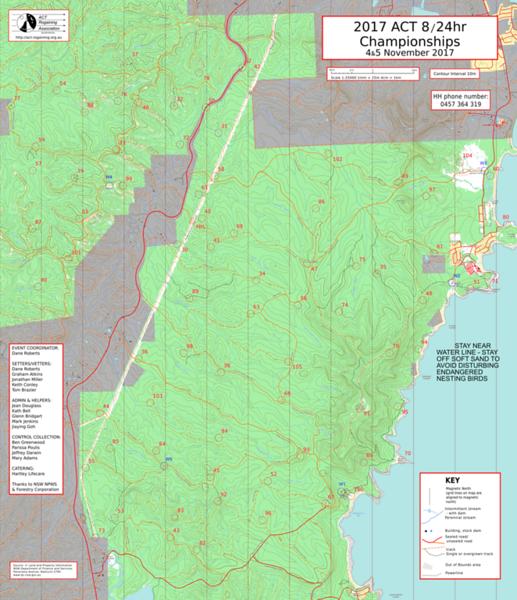 Event map. 50x58cm digital printed on Teslin at Press Print Digital in Melbourne.