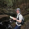 David Baldwin in Bridge Creek, South Brooman State Forest