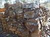 Just the walls left of a gold diggers hut