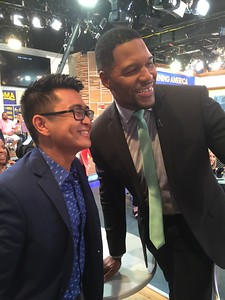 GMA  EJ Paras with Strahan