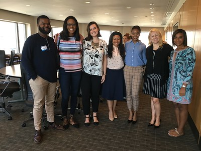 ABC  Fellows with Debra O'Connell (Board Chairwoman) & Danielle Brooks (2016)