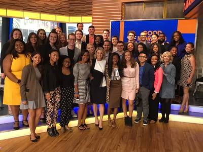 GMA  Amy Robach Group Shot