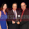 Craig Schrank, center accepts Willow Bend Mortgage Comapny's award for being the tie for No. 46 Middle Market 50 company from Melanie Shaffer, left, and Brett lawson of The CFO Suite.