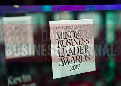 The Dallas Business Journal's 2017 class of Minority Business Leaders were awarded Thursday afternoon at the Sheraton Dallas Downtown Hotel.