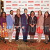 Minority Business leader Award recipients Sunny Sajnani, Principal and director, Metropolitan Capital and Tamela Lee, Vice president, Business Diversity and Development, DFW International AirportAdvisors, center with their friends and families.